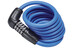 ABUS Numero 5510 Spiralkabelschloss SCMU blau